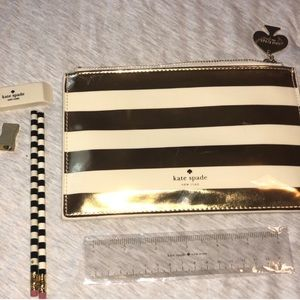 Kate Spade Pencil Pouch Set